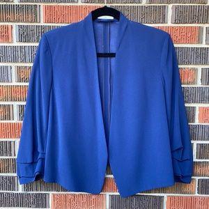 Babaton Power Short Blazer Blue Size 4
